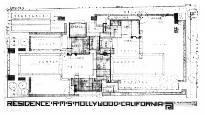 Before Construction On The Kings Road House Was Completed, Both Pauline  Schindler (indicated As U201cS.P.G.u201d On The Floor Plan, Which Stands For Her  Maiden ...