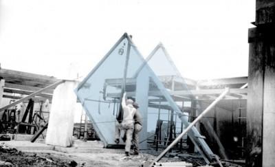 Architecture bureau design plan bureau integrates asymmetric